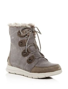 Women's Explorer Joan Waterproof Suede Boots by Sorel