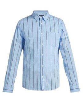 Striped Cotton Shirt by A.P.C.
