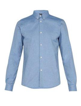Button Down Collar Oxford Shirt by A.P.C.