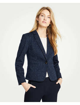 Speckled Ponte Newbury Blazer by Ann Taylor