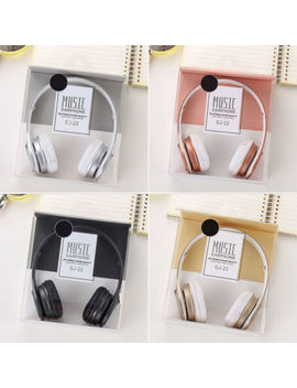 Foldable Gaming Headset Stereo 3.5mm Jack Headphone Earphone For I Phone Samsung by Unbranded