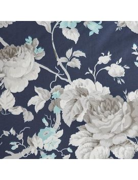 Diana Floral Navy Full/Queen Comforter by Pier1 Imports