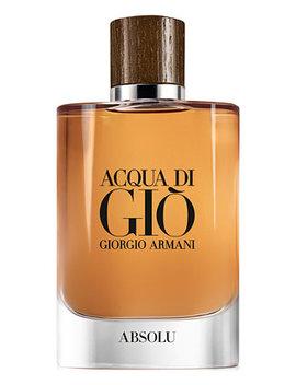 Men's Acqua Di Giò Absolu Eau De Parfum Spray, 4.2 Oz. by Giorgio Armani