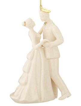 "Lenox 2016""Always And Forever Bride And Groom Ornament by Lenox"