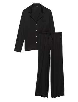 Cosabella | Bellita Solid Long Sleeve Pajama Pant Set by Banana Repbulic