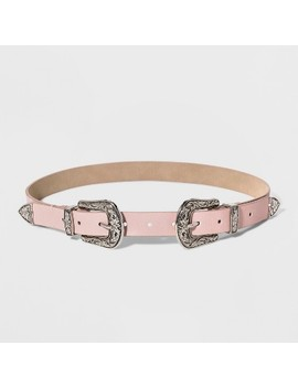 Women's Double Buckle Belt   Wild Fable™ by Wild Fable