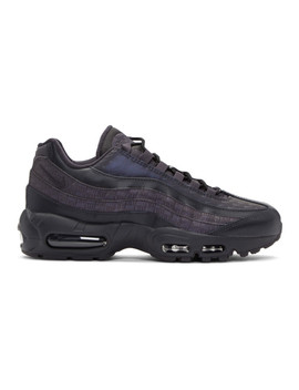 Grey Air Max 95 Sneakers by Nike