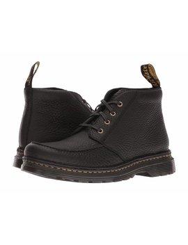 Dr. Martens Austin Men's Shoes Moc Toe Leather Ankle Boots 22119001 Black by Dr. Martens