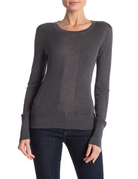 Long Sleeve Cotton Crew Sweater by James Perse