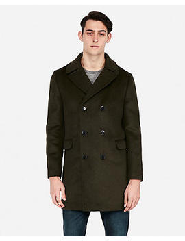 Double Breasted Oversized Topcoat by Express