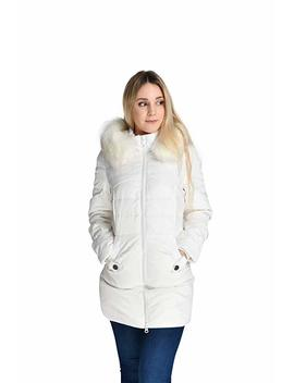 Beinia Valuker Women's Down Coat With Fur Hood With 90 Percents Down Parka Puffer Jacket by Beinia
