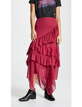 Asymmetrical Ruffle Skirt by Valencia & Vine