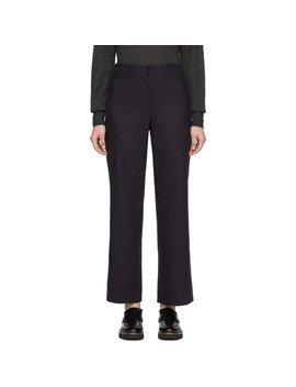 Navy Aglaé Trousers by A.P.C.