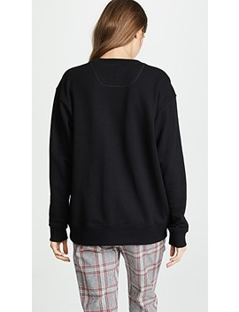 Lux Embellished Sweatshirt by Marc Jacobs