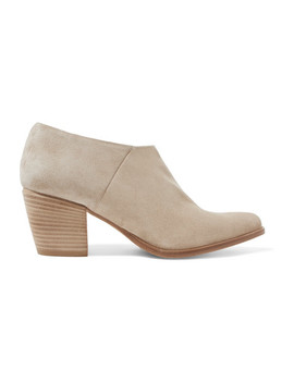 Hamilton Suede Ankle Boots by Vince