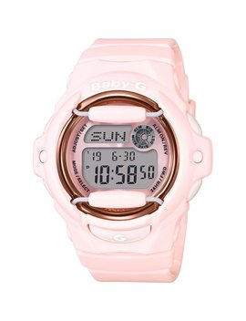 Casio Baby G Bg169 G 4 B Face Protector Digital Watch (Baby Pink / Rose Gold Tone) by Casio