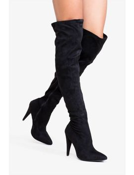 Defy The Sky Over The Knee Boot by A'gaci