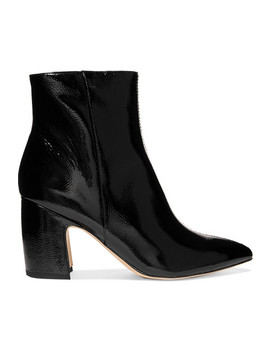 Hilty Patent Leather Ankle Boots by Sam Edelman