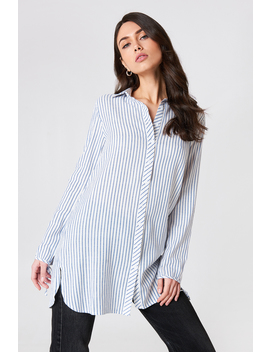 Tie Sleeve Long Shirt by Glamorous