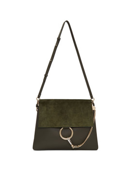 Green Medium Faye Satchel by ChloÉ