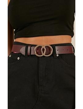 Love Drunk Belt In Plum by Showpo Fashion