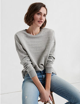 Subtle Shine Stripe Pullover by Lucky Brand