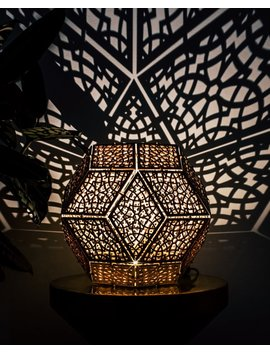 Moroccan Triacontahedron Lamp Kit by Etsy