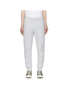 Grey Slim Sweatpants by Champion Reverse Weave