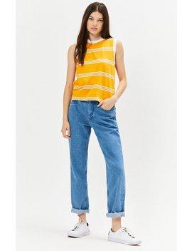 Tommy Jeans Boxy Striped T Shirt by Pacsun
