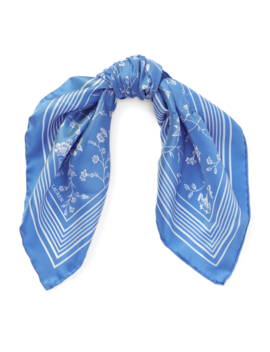 Floral Silk Twill Scarf by Ralph Lauren