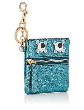 Eyes Metallic Leather Coin Purse by Anya Hindmarch
