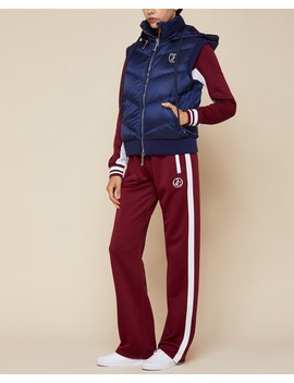 Hooded Down Puffer Vest by Juicy Couture