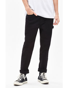 Pac Sun Slim Fit Carpenter Black Jeans by Pacsun