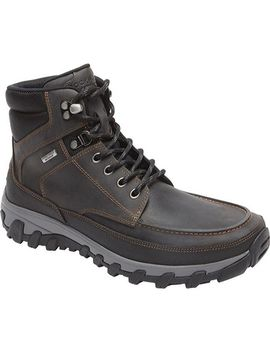 Rockport Men's Cold Springs Plus Moc Toe Boot Castlerock Grey by Rockport