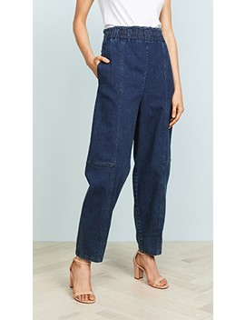High Waisted Denim Pants by See By Chloe