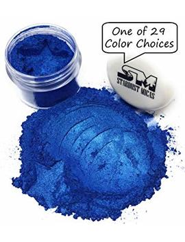 Stardust Micas Pigment Powder Cosmetic Grade Colorant For Makeup, Soap Making Dye, Resin, Epoxy, Nail, Diy Crafting Projects, Bright True Colors Stable Mica Batch Consistency Blue Ice by Stardust Micas