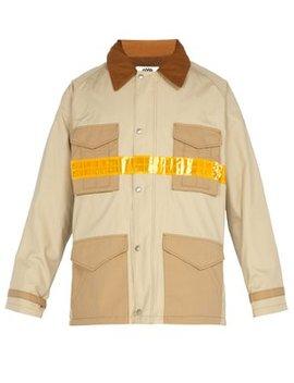 Reflective Strip Industrial Jacket by Junya Watanabe