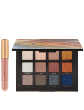 Becca Volcano Goddess Eye Shadow Palette &Amp; Glow Gloss by Qvc