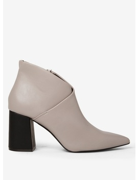 Grey 'annie' Pointed Ankle Boots by Dorothy Perkins