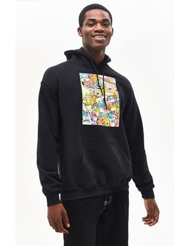 Nickelodeon '90s Cartoons Pullover Hoodie by Pacsun