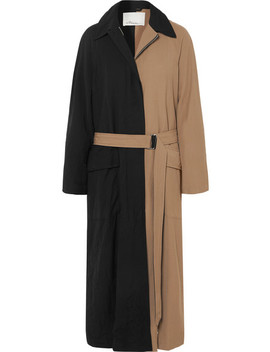 Paneled Twill Trench Coat by 3.1 Phillip Lim