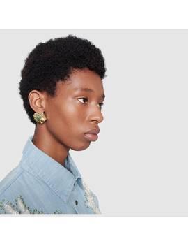 Rajah Earrings by Gucci