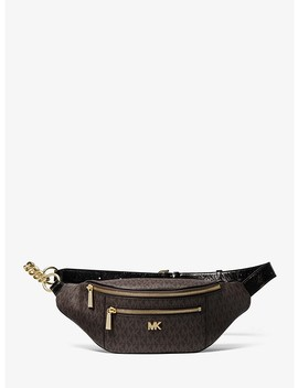 Medium Logo Belt Bag by Michael Michael Kors