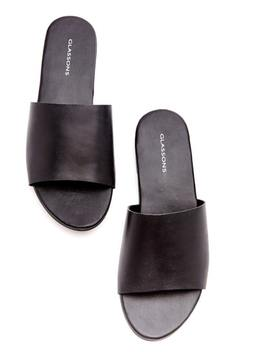 Leather Slide by Glassons