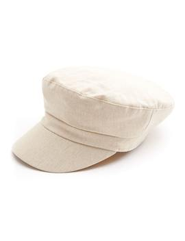 Linen Train Driver Hat by Glassons