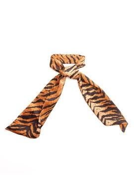 Tiger Print Headscarf by Glassons