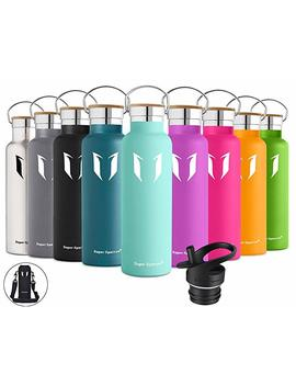 Super Sparrow Drinks Bottle Stainless Steel Water Bottle–500ml & 750ml & 1000ml Flask With Perfect Vacuum Flask For Walking, Fitness, Yoga, Outdoor And Camping | Bpa Free by Amazon