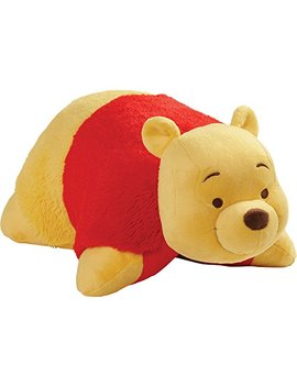 "Pillow Pets Disney, Winnie The Pooh, 16"" Stuffed Animal Plush by Pillow Pets"