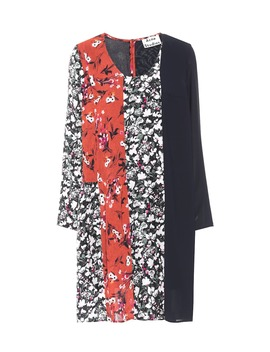 Jorny Floral Printed Jersey Dress by Acne Studios