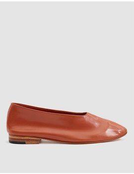Glove Slip On Shoe In Rust by Martiniano